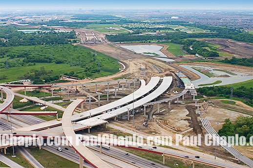 Road Photographer Dallas construction NTTA Airport Runway Airline Transportation Roadway Bridge Photography Dallas Texas Photographer TX Digital Aerial Insfrastructure Transportation Toll Road Booth Dallas