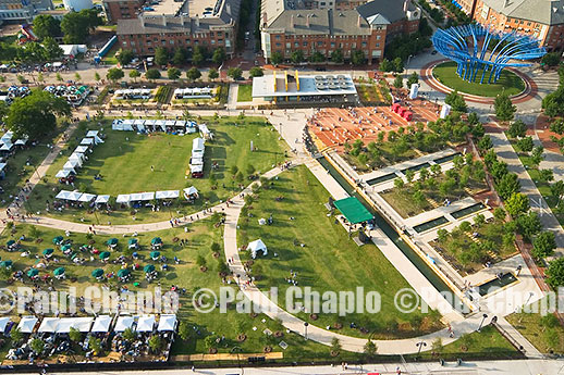 PARK CIVIC Helicopter Aerial Landscape Park Design Photography Dallas garden landscape architecture digital photographers Dallas, TX Texas Architectural Photography garden design AERIAL DIGITAL PHOTOGRAPHER DALLAS
