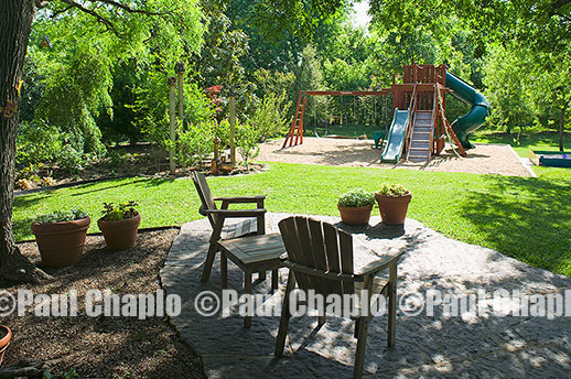 SWING PLAY SET garden landscape architecture digital photographers Dallas, TX Texas Architectural Photography garden design