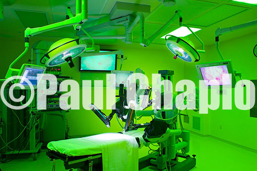 Medical Interior Architectural Photography O.R. Operating Room Robot Photographer Architectural Chapo Dallas Texas TX Digital