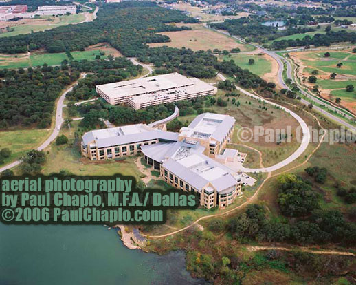 HELICOPTER AERIAL PHOTOGRAPHY: Dramatic Corporate Headquarter Aerial Photography by Paul Chaplo